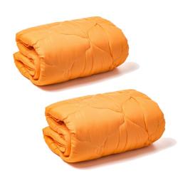 Микрофибърни олекотени завивки 2 броя - Оранж