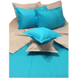 Двуцветен спален комплект Аста - 100% Памук