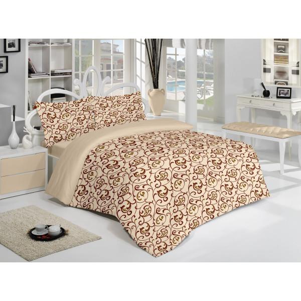 Спален комплект Elegant Cappuccino - 100% Памук