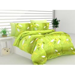 Памучен спален комплект Леонеса - зелен