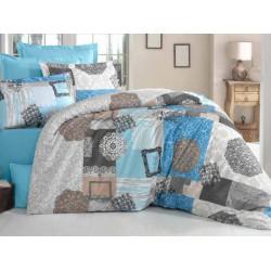 Модернистично спално бельо Elis - ранфорс