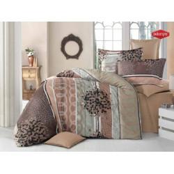 Модерно спално бельо Alistar Beige - ранфорс