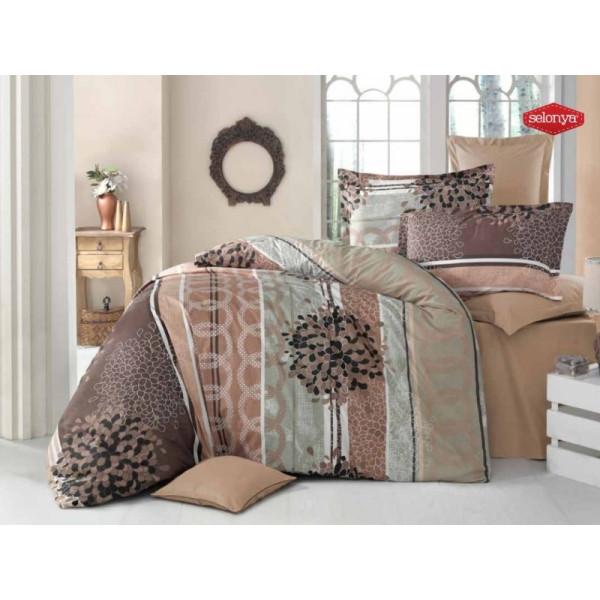 Стилен Памучен спален комплект ALISTER