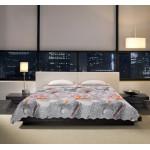 Микрофибърно покривало за спалня с 3D дизайн - Халея