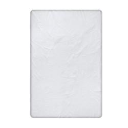 Памучен долен чаршаф в светло сиво