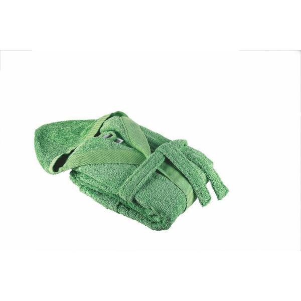 Зелен Памучен халат