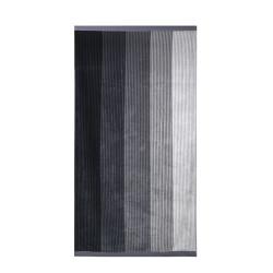 Кърпа за плаж Черни ивици - 100% Памук