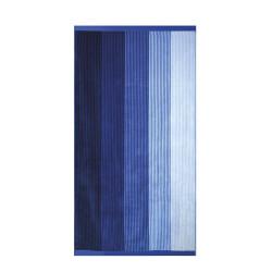 Кърпа за плаж Сини ивици - 100% Памук