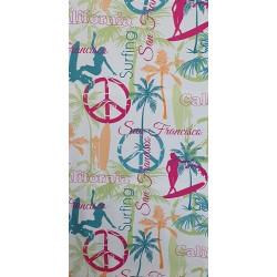 Памучна кърпа за плаж Сърфинг