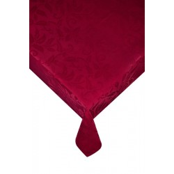 Стилна покривка за маса Wine red