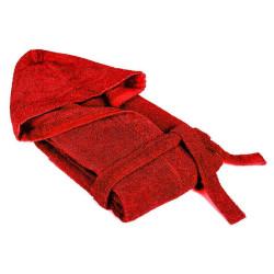 Черен халат за баня - памучен