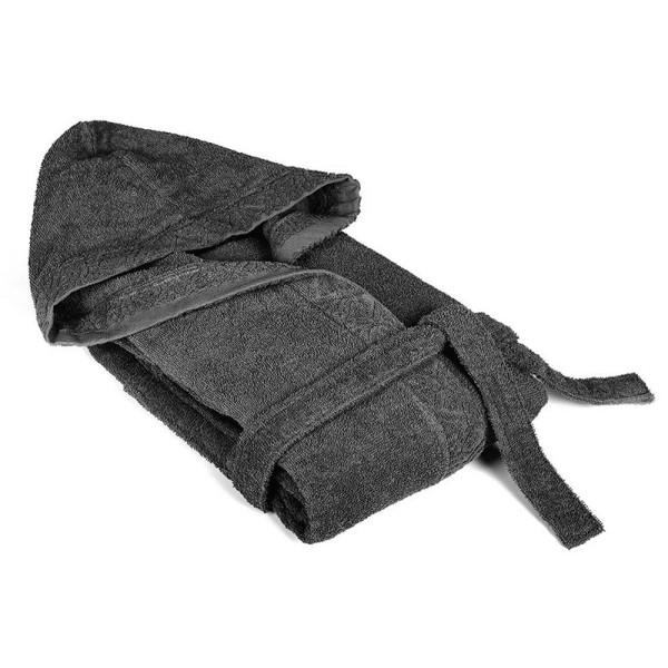 Сив халат за баня - памучен