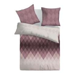Дизайнерски памучен спален комплект Илюзия