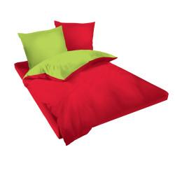 Двуцветен памучен спален комплект Nisana - Ранфорс
