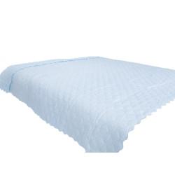 Покривало за спалня - Небесно синьо