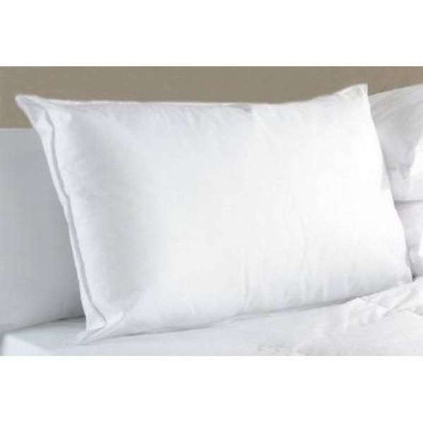 Комфортна памучна възглавница с пълнеж от гъши пух