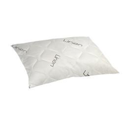 Комфортна възглавница с влакна от лен