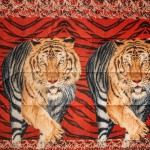 Микрофибърно покривало Tigers