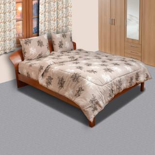 Памучен спален комплект Finiks beige