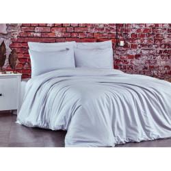 Спален комплект Бял - Памучен сатен