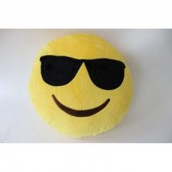 Интериорна възглавница Emoticon glasses