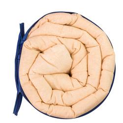 Комфортна олекотена завивка в бежов цвят - 100% Памук