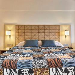 Микрофибърно шалте за спалня Африка