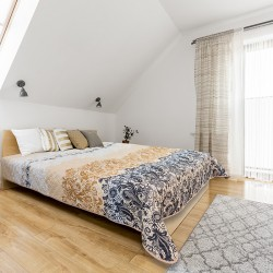Микрофибърно шалте за спалня Анди
