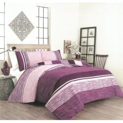 Памучен спален комплект с олекотена завивка Ребека