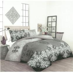 Памучен спален комплект с олекотена завивка Тайра