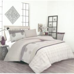 Памучен спален комплект с олекотена завивка Ники