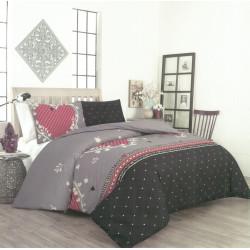 Памучен спален комплект с олекотена завивка Наоми