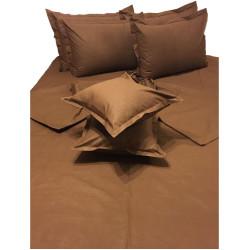 Памучен спален комплект Шоко