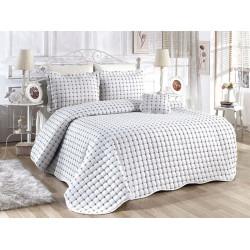 Луксозно покривало за спалня от жакард Албиция