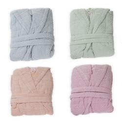 Памучен халат в различни цветове Rosko