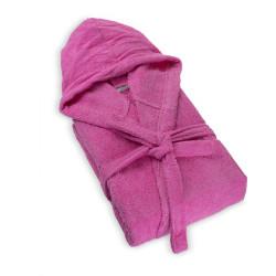100% Памучен халат за баня Pink