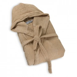 100% Памучен халат за баня Cappuccino