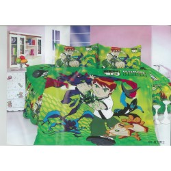 Уникално покривало за детско легло с калъфка за възглавница Бен Тен
