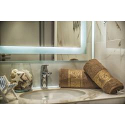 Комплект кърпи за баня ВЕРСАЧЕ Brown
