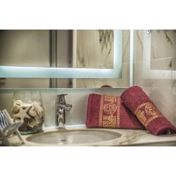 Комплект кърпи за баня ВЕРСАЧЕ Red