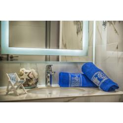 Комплект кърпи за баня ВЕРСАЧЕ Blue