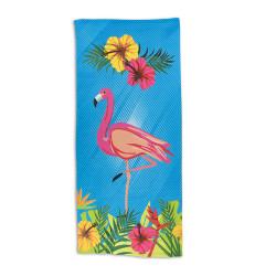 Кърпа за плаж Розово фламинго