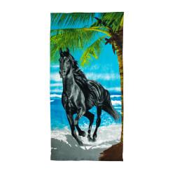 Кърпа за плаж Black Horse