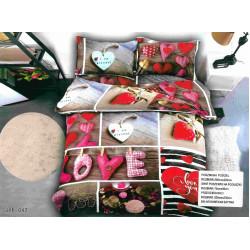 3D Спален комплект Лятна любов