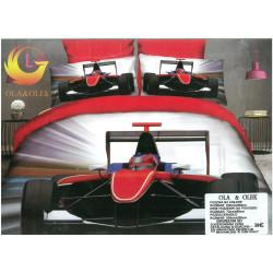 Микрофибърен 3D Спален комплект F1