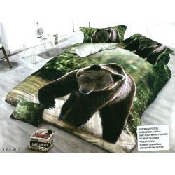3D Спален комплект Мечката