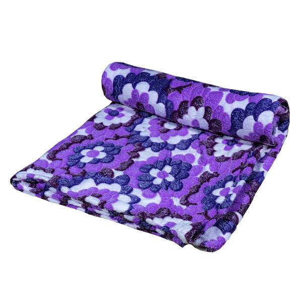 Дизайнерско одеяло плюш Лила