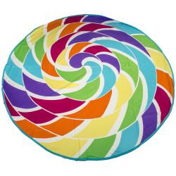 Модерна кърпа за плаж БОНИБОН - кръгла