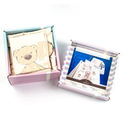 Бебешки спален комплект Мечо - 100% Памук
