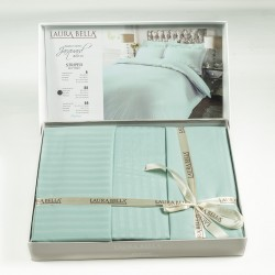 Спален комплект - Бамбук+Сатен - Lashonda Тurquoise